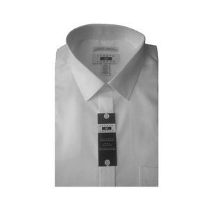 Joseph Abboud White Egyptian Cotton Dress Shirt